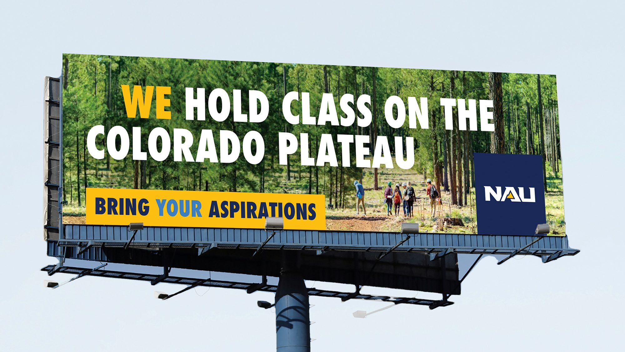 We hold class on the Colorado Plateau.