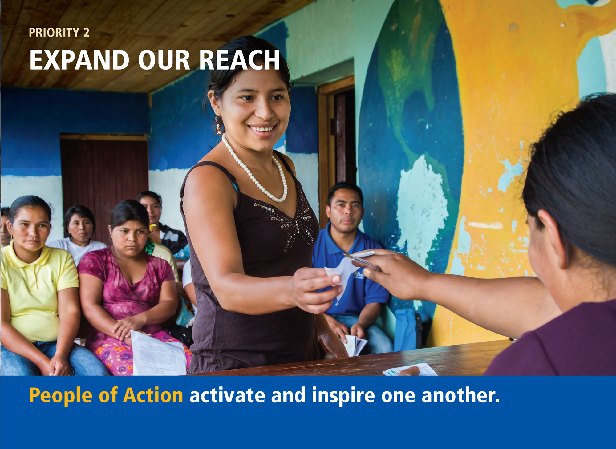 People of action activate and inspire each other.
