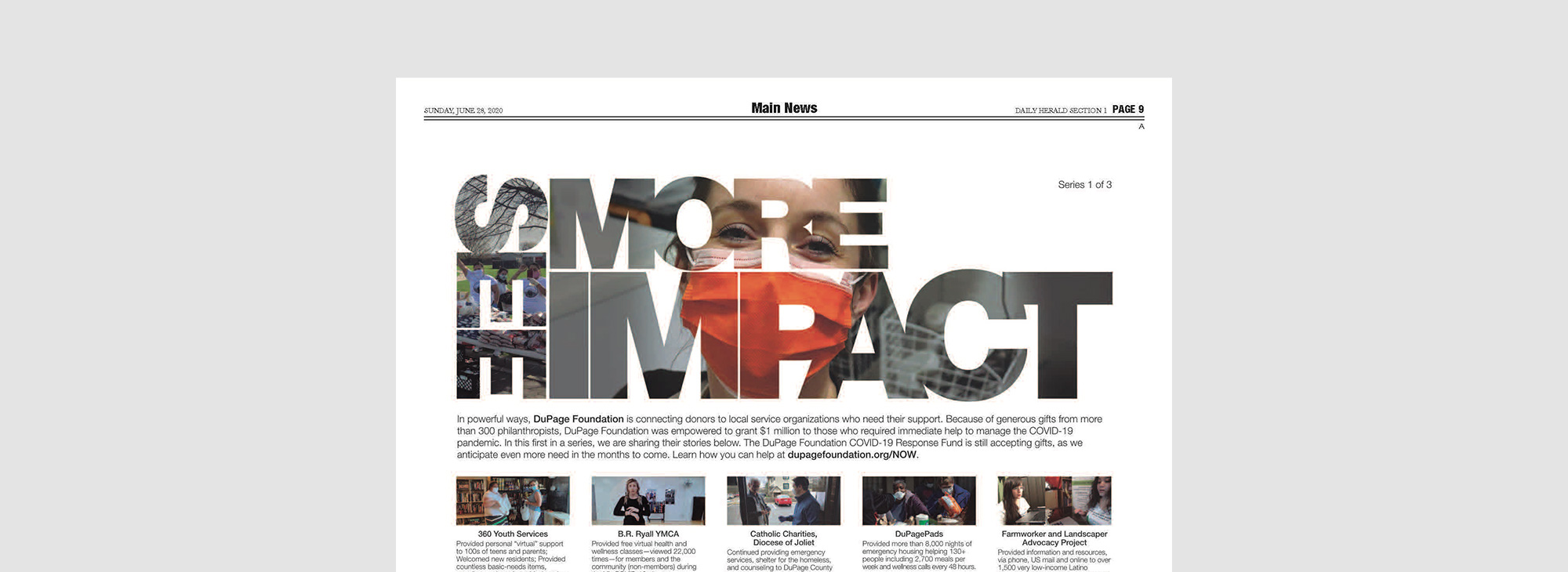 See more impact type treatment used on website.